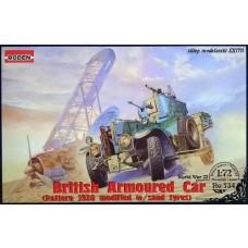 Roden 1/72 British Armoured Car Pattern 1920 Mk.II Plastic Model Kit