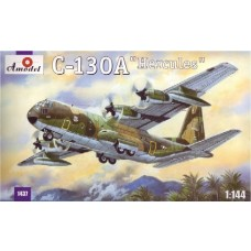 1/144 C-130A Hercules Plastic Model Kit