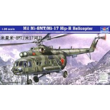 1:35 Mil Mi17 Hip-H Russian Helicopter Plastic Model Kit