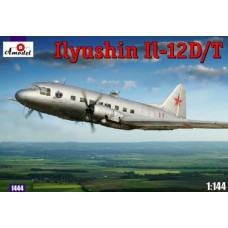 1/144 Ilyushin IL-12D/T Plastic Model Kit