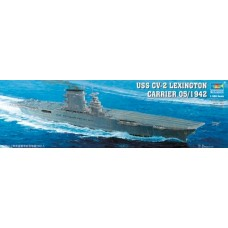 1/350 USS Lexington AC CV-2 May '42 Plastic Model Kit