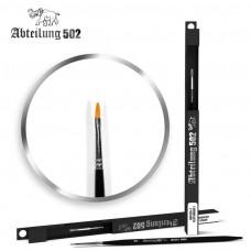 Size 2 Synthetic Flat Paint Brush