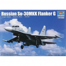 1/144 Russian Su-30MK Flanker G Fighter Plastic Model Kit