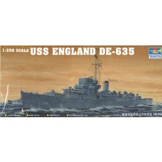 1/350 USS England DE-635 Plastic Model Kit