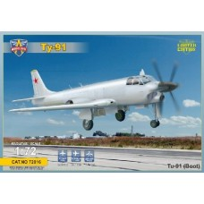 1/72 Tu-91 Boot Soviet Naval Attacker Plastic Model Kit