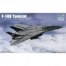1/144 F-14B Tomcat Fighter Plastic Model Kit