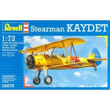 Revell Germany 1/72 Stearman PT-13D Kaydet Plastic Model Kit