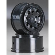 KMC Hex Wheels Black (2)