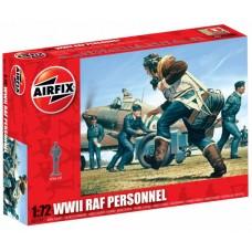 1:72 RAF Personnel Plastic Model Kit