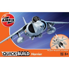 Quick Build Harrier Plastic Model Kit