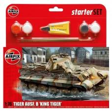 1/76 PZKW VI Ausf.B 'King Tiger' Plastic Model Kit