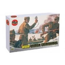 1:72 British Commandos Plastic Model Kit
