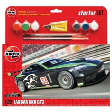 1/32 Jaguar XKR GT3 Plastic Model Kit