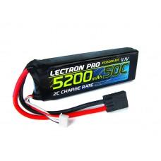 Lectron Pro 5200mAh 50C 11.1v LiPo Soft Pack