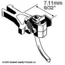 HO #17 NEM 362 Short European Coupler 7.11mm (.280) (2 Pair)