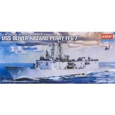 1:350 USS Oliver Hazard Perry Plastic Model Kit
