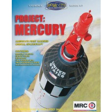 Academy 1:12 Project Mercury Plastic Model Kit