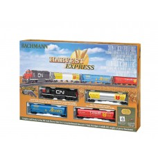HO Harvest Express Electric Train Set