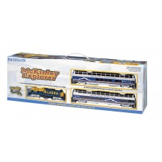 Bachmann HO Scale McKinley Explorer Electric Train Set