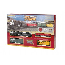 Bachmann HO Scale Pacific Flyer Electric Train Set