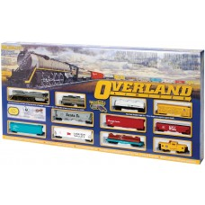 HO Overland Limited Train Set