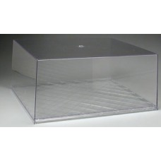 Military Display Case Clear Base