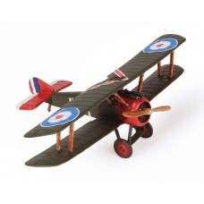 1/72 British Sopwith Camel F.1 Brown Diecast Model