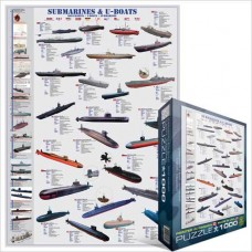 Submarines - Uboats 1000 pc