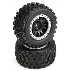 Pro-Line Badlands MX43 Mounted All Terrain Tires X-Maxx (2)
