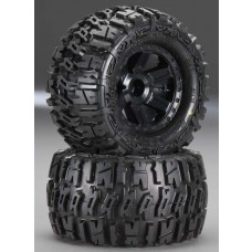 Trencher 2.8 All Terrain Tires Mounted on Desperado Wheels