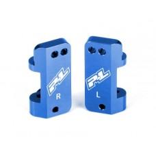 Blue Aluminum Caster Blocks PRO-2/Slash 2wd