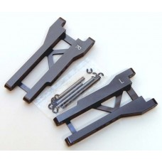 Aluminum Rear Suspension Arms Slash 2wd Gun Metal