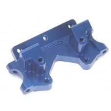 STRC Machined Aluminum Front Bulkhead Blue Slash/Stampede