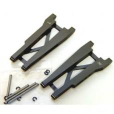 STRC Aluminum Rear A-Arms Stampede/Rustler Gun Metal