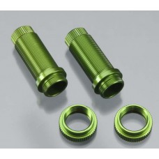 Front Threaded Shock Bodies Green Traxxas (2)