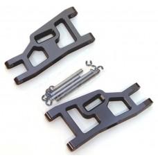 Aluminum Front Suspension Arms w/Pins Gun Metal