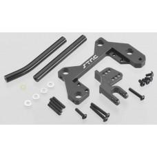 Aluminum Off Axle Servo Mount/Panhard Kit Wraith Black