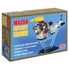 Minicraft Models 1/5 Visible Rotary Engine Plastic Model Kit