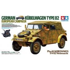 Tamiya 1/16 German Kubelwagen Type 82 Plastic Model Kit