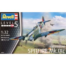 1:32 Spitfire MkIXC Airplane Plastic Model Kit