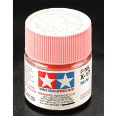 X17 Pink Mini Acrylic Paint Jar