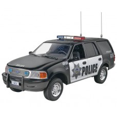 1:25 1997 Ford Police Expedition Plastic Model Kit