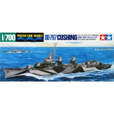 1:700 Fletcher Class DD-797 Destroyer Model Kit