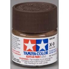 X9 Brown Acrylic Paint Jar