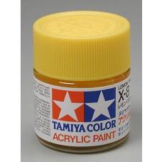 X8 Lemon Yellow 3/4 oz Acrylic Paint Jar
