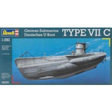 1:350 U-Boot Type VIIC Plastic Model Kit