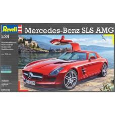 1:24 Mercedes SLS AMG Plastic Model Kit