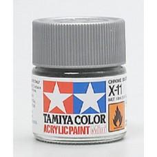 X11 Chrome Silver Acrylic Paint Jar
