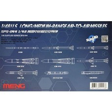 Meng Model 1:48 US Med Range A-A Missile Plastic Model Kit