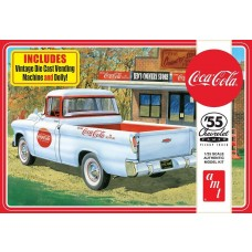 AMT 1/25 1955 Chevy Cameo Pickup Coca-Cola Plastic Model Kit
